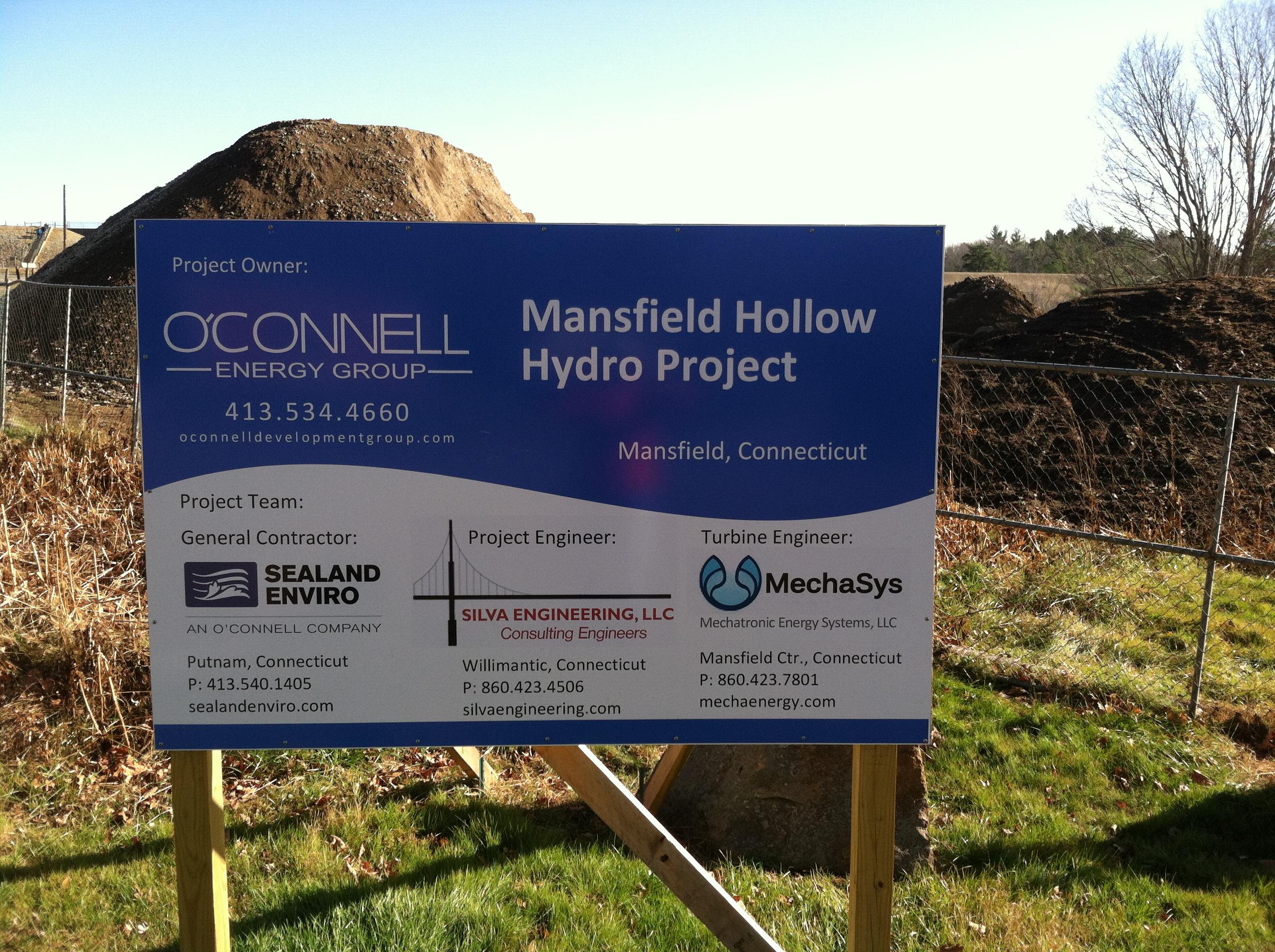 Sealand Enviro 187 Energy Mansfield Hollow Hydro
